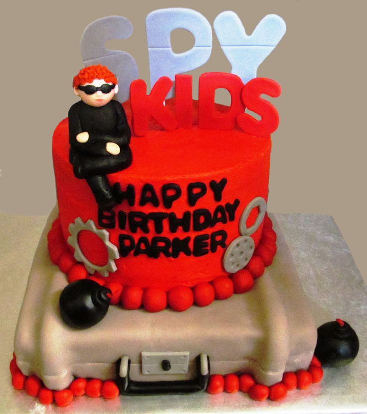 Spy Birthday Cakes