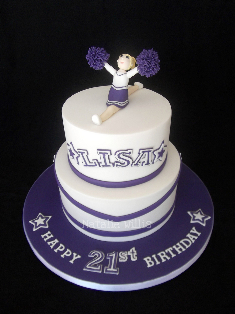 Cheerleader Birthday Cakes