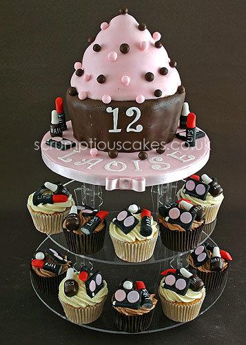 Birthday Cake 651 Make Up Muffins Paula Jane Bourke