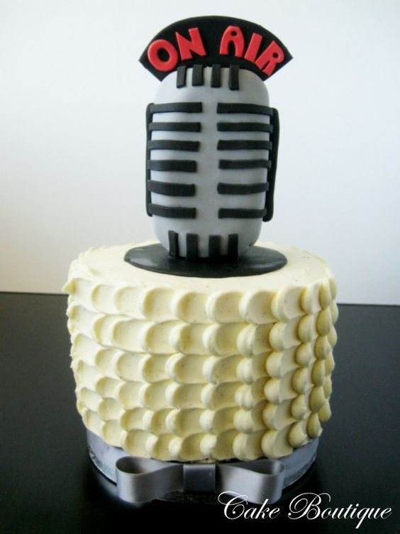 Radio Birthday Cakes