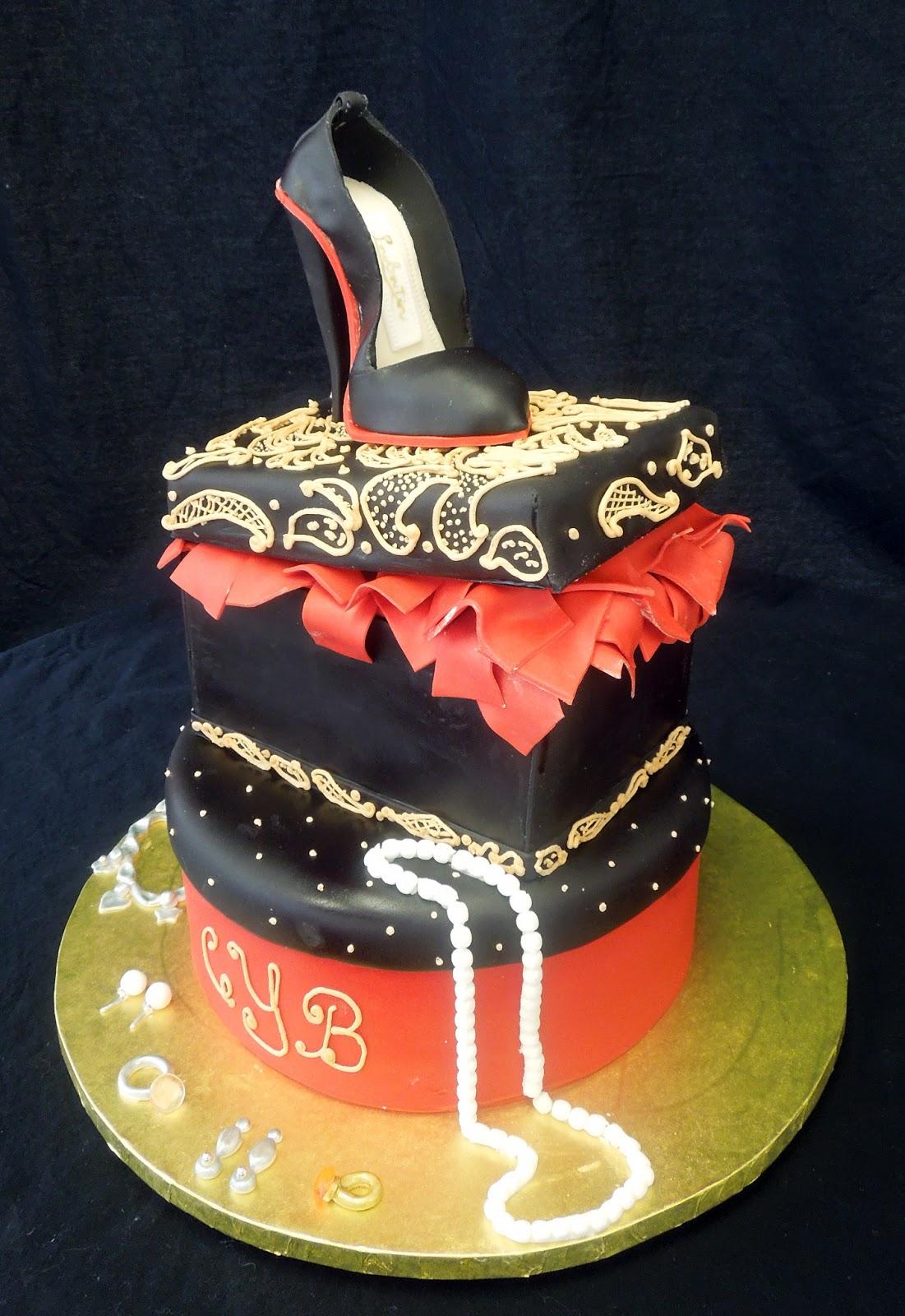 Shoe Birthday Cakes