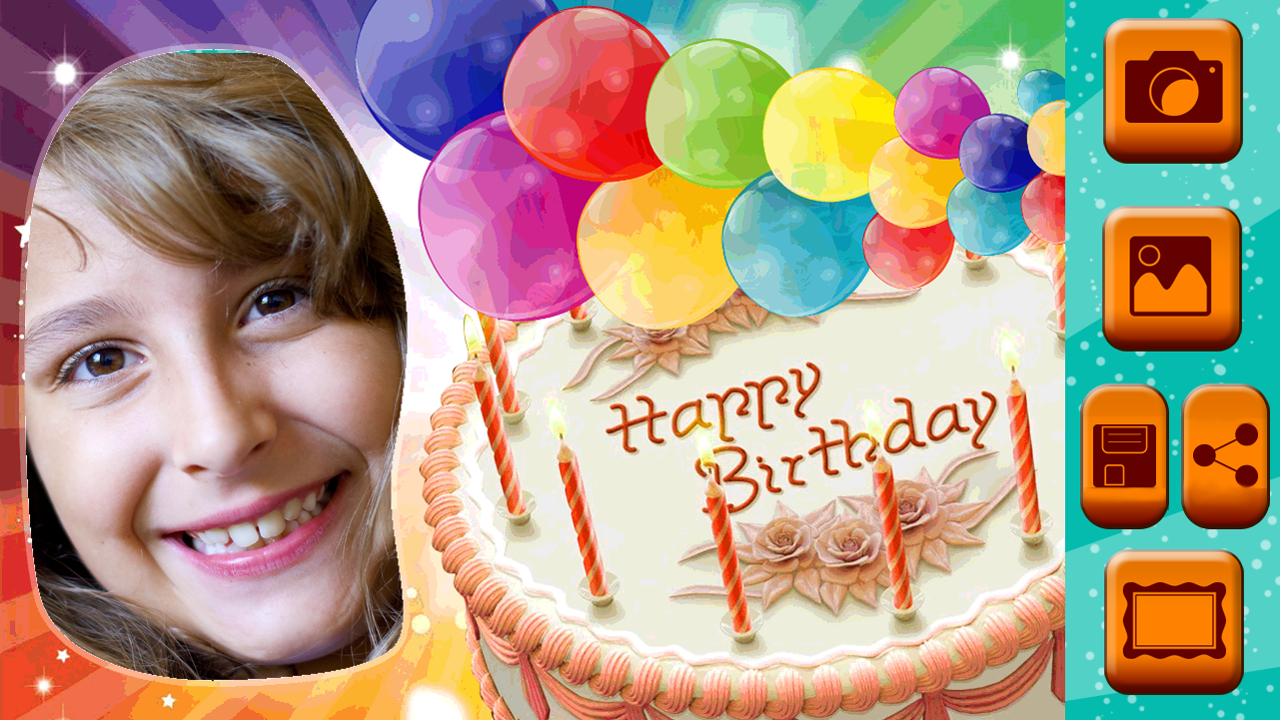 Photofunia Birthday Cake With Photo Editing Adsleaf