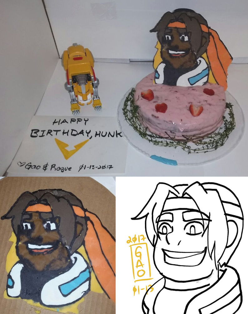 Hunk Birthday Cakes
