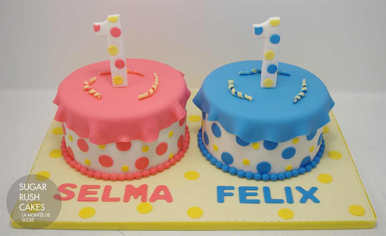 5f2b03f8c835 Twin Birthday Cakes