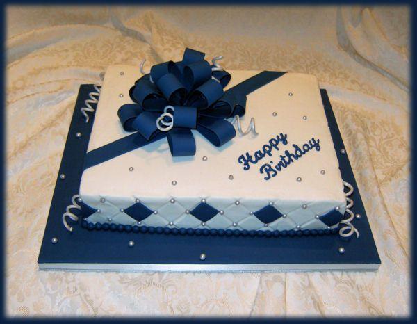 Masculine Birthday Cakes - Ice Cream Cup Cakes