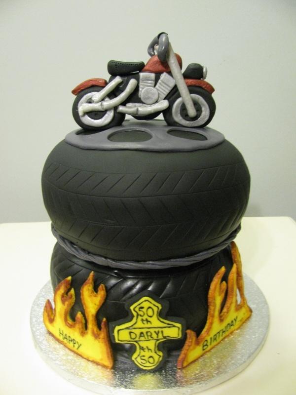 Moto Birthday Cakes