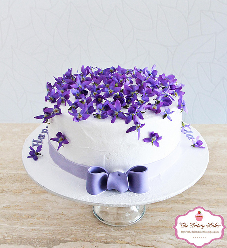 Violet Birthday Cakes