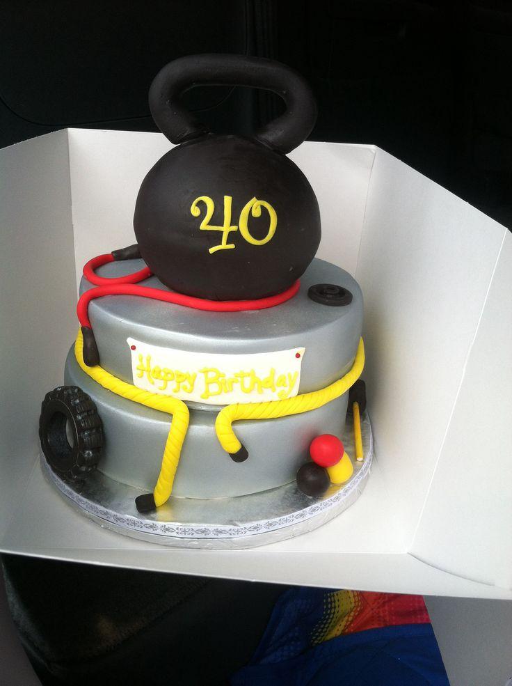 Workout Birthday Cakes