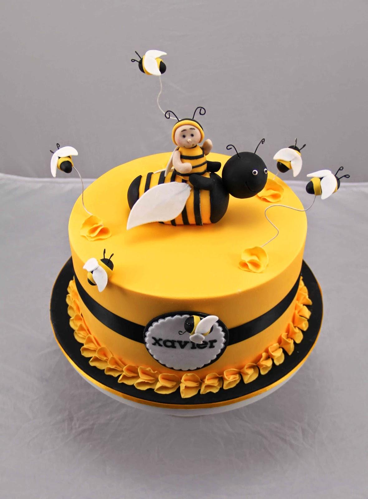 Bee Birthday Cakes