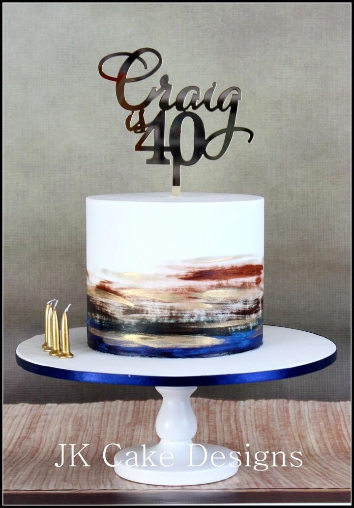 94 Birthday Cakes For Mens 60th