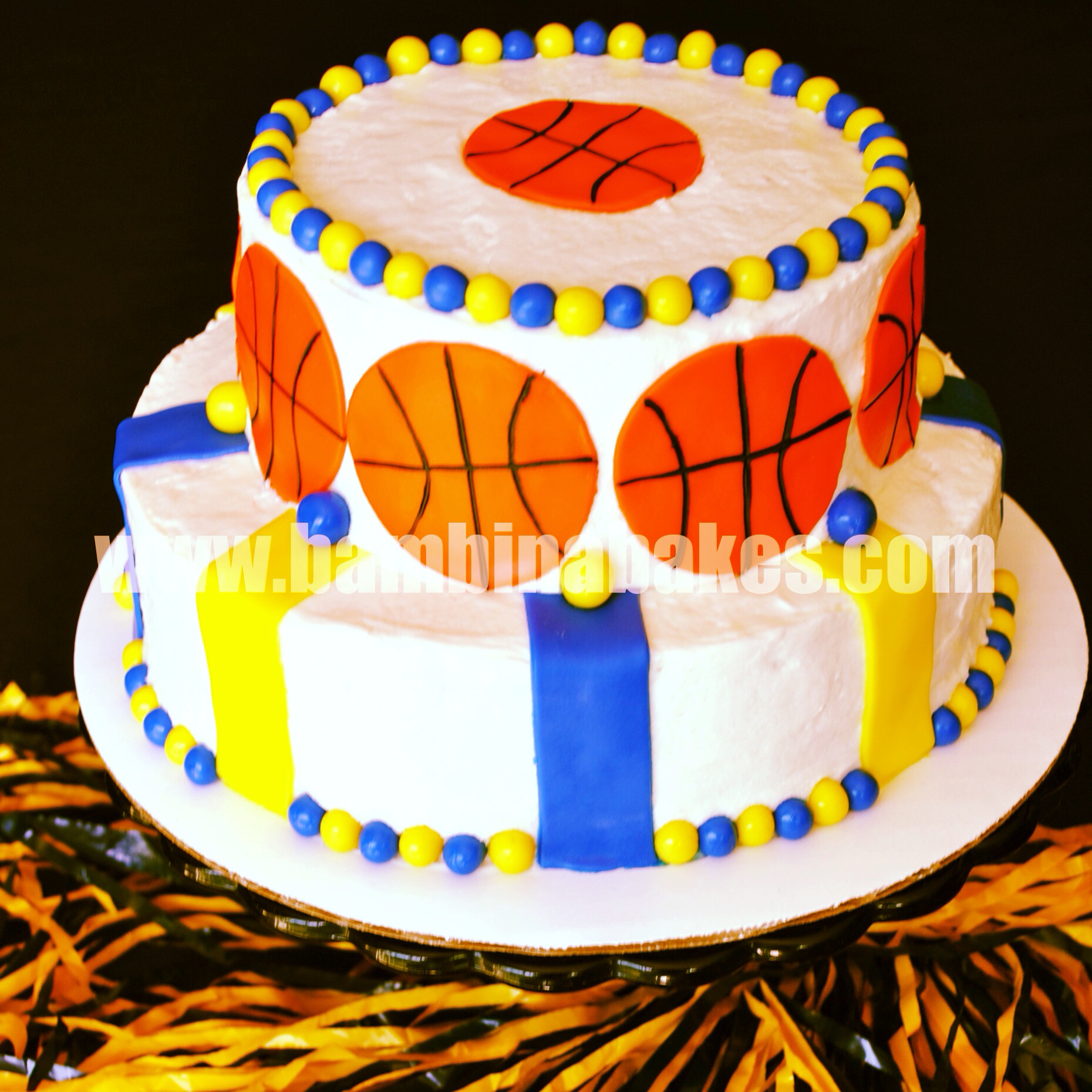Warriors Birthday Cakes