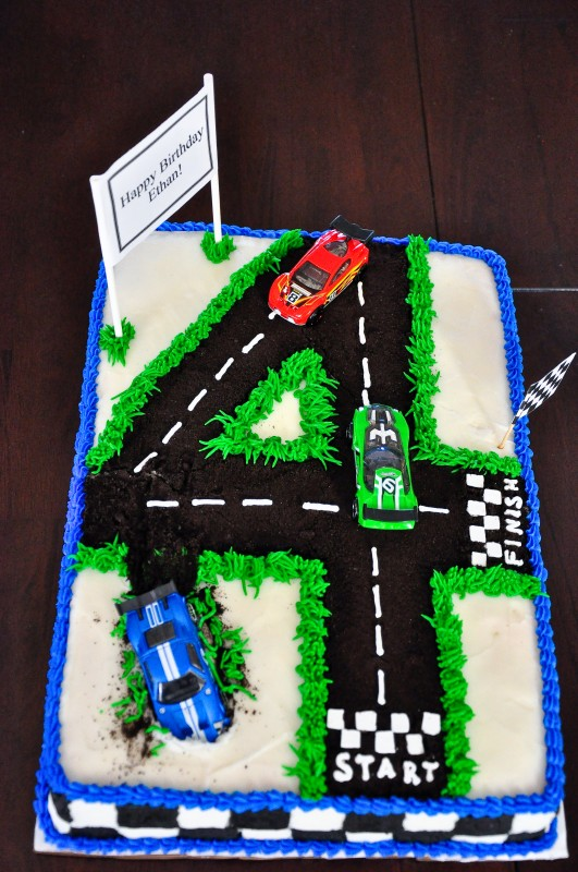 4Th Birthday Cakes