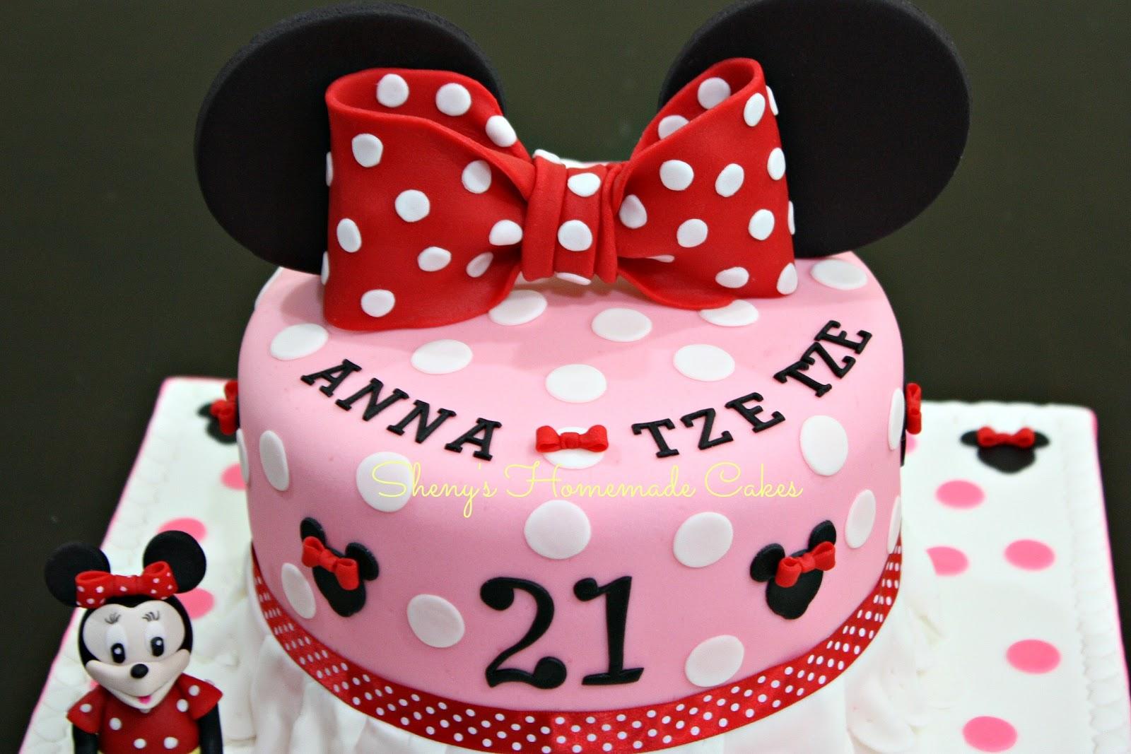 Astonishing Birthday Cakes Minnie Mouse The Cake Boutique Funny Birthday Cards Online Amentibdeldamsfinfo