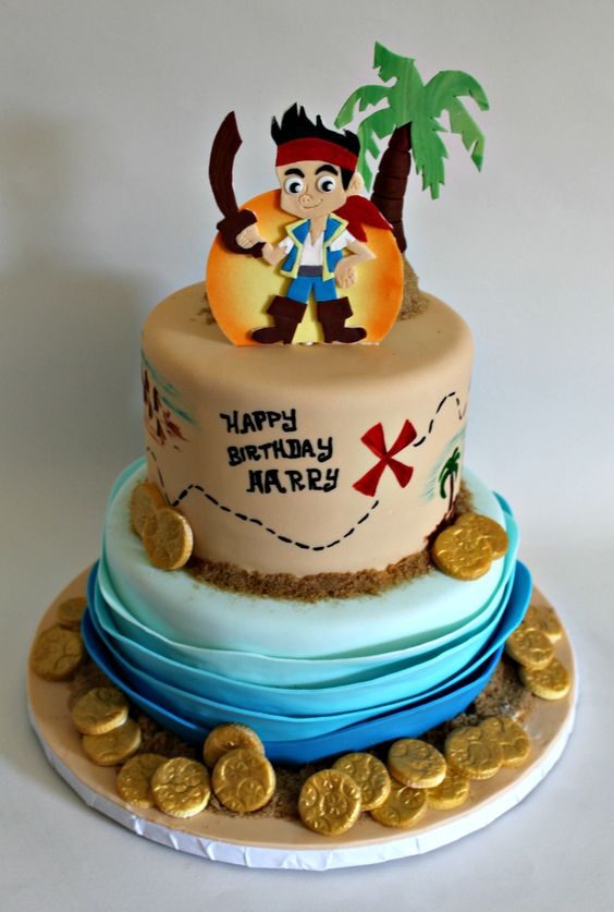 Jake Birthday Cakes