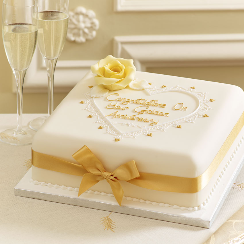 Cake Ideas For Wedding Anniversary: Image Anniversary Cakes