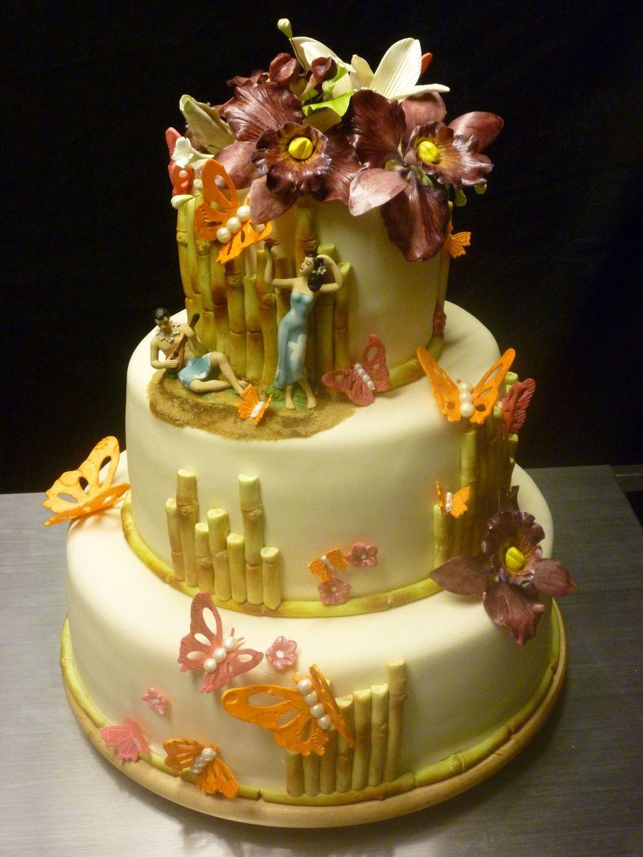 Hawaiian Wedding Cakes