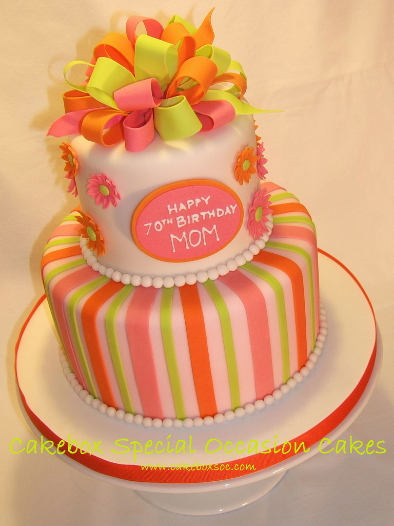 93 70th Birthday Cake Ideas For Mom