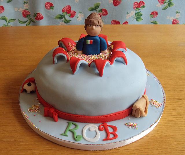 Exploding Birthday Cakes