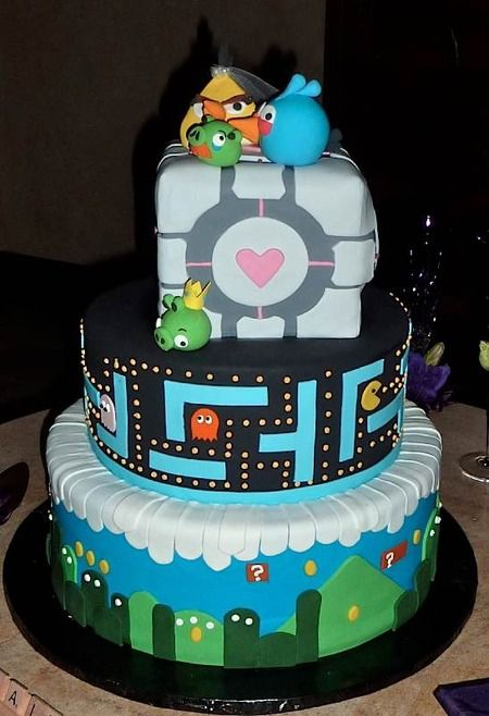 Gamer Birthday Cakes