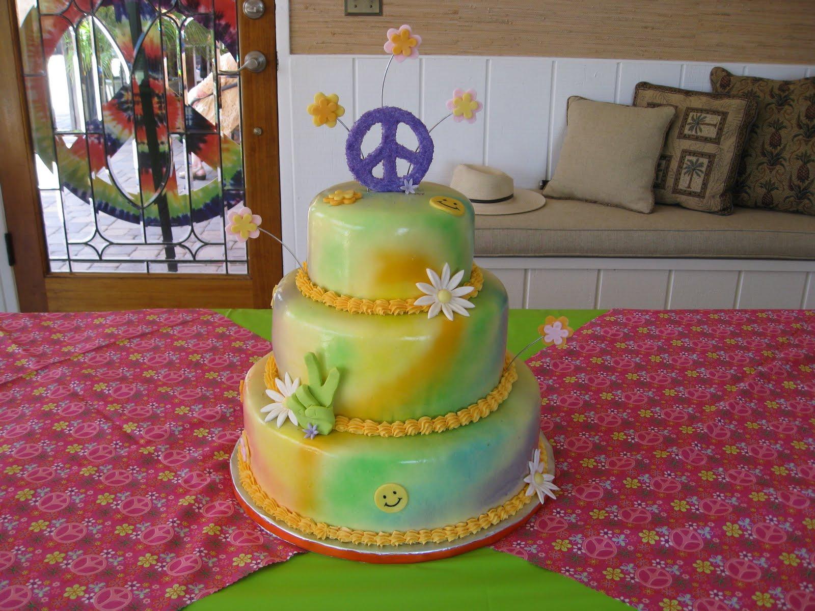 60S Birthday Cakes