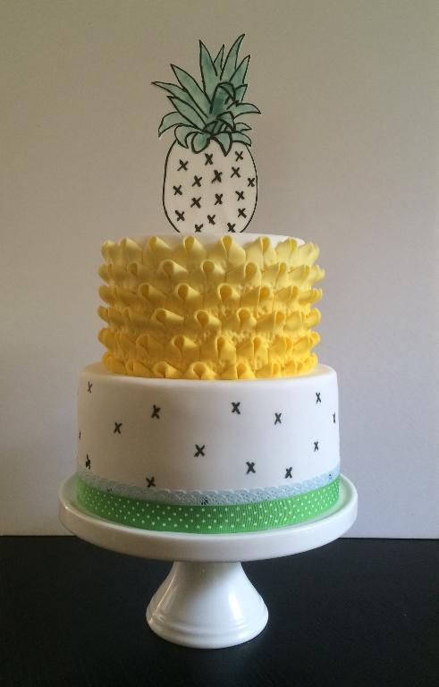 Pineapple Birthday Cakes