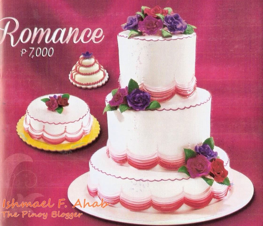 Goldilocks Wedding Cakes
