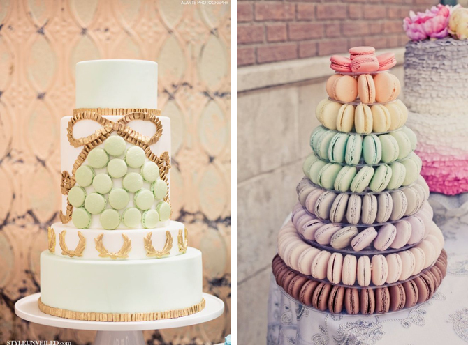 Macaron Wedding Cake Weddings By Malissa Barbados