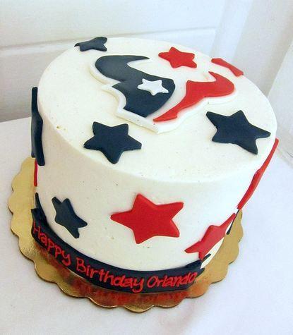 Texans Birthday Cakes