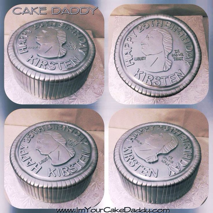 Quarter Birthday Cakes