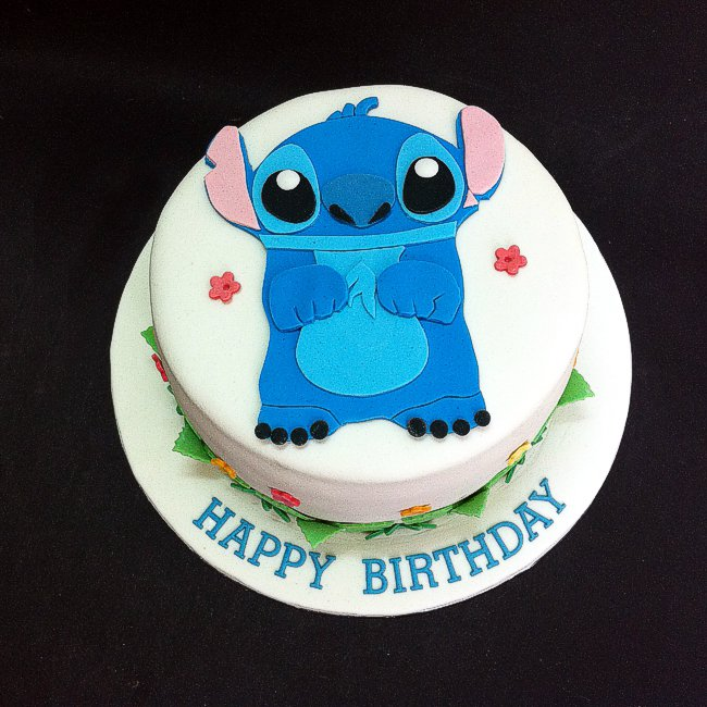 Stitch Birthday Cakes