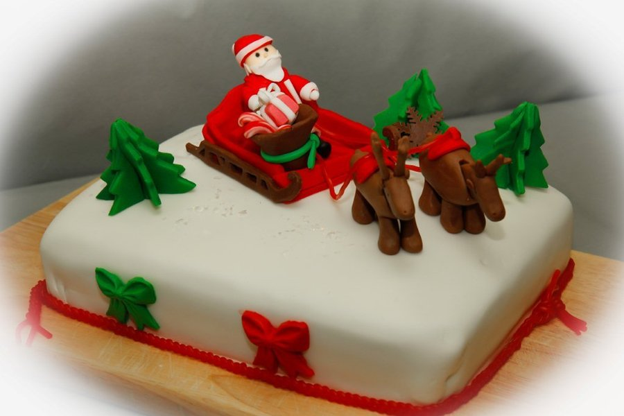 Merry Christmas Cakes