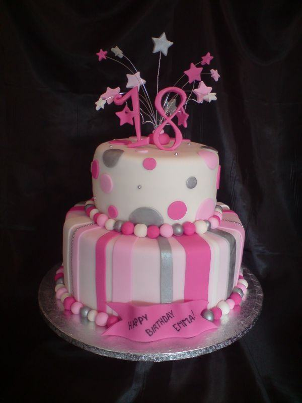 18 Year Old Birthday Cake A
