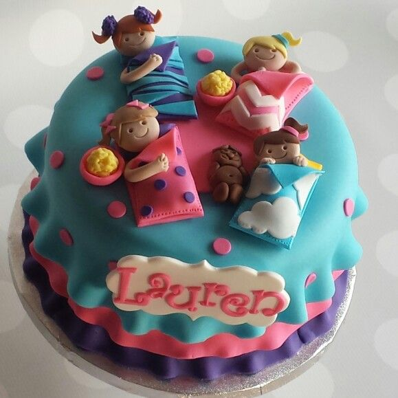Sleepover Birthday Cakes