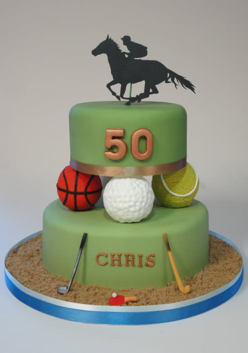 Tennis Wedding Cakes