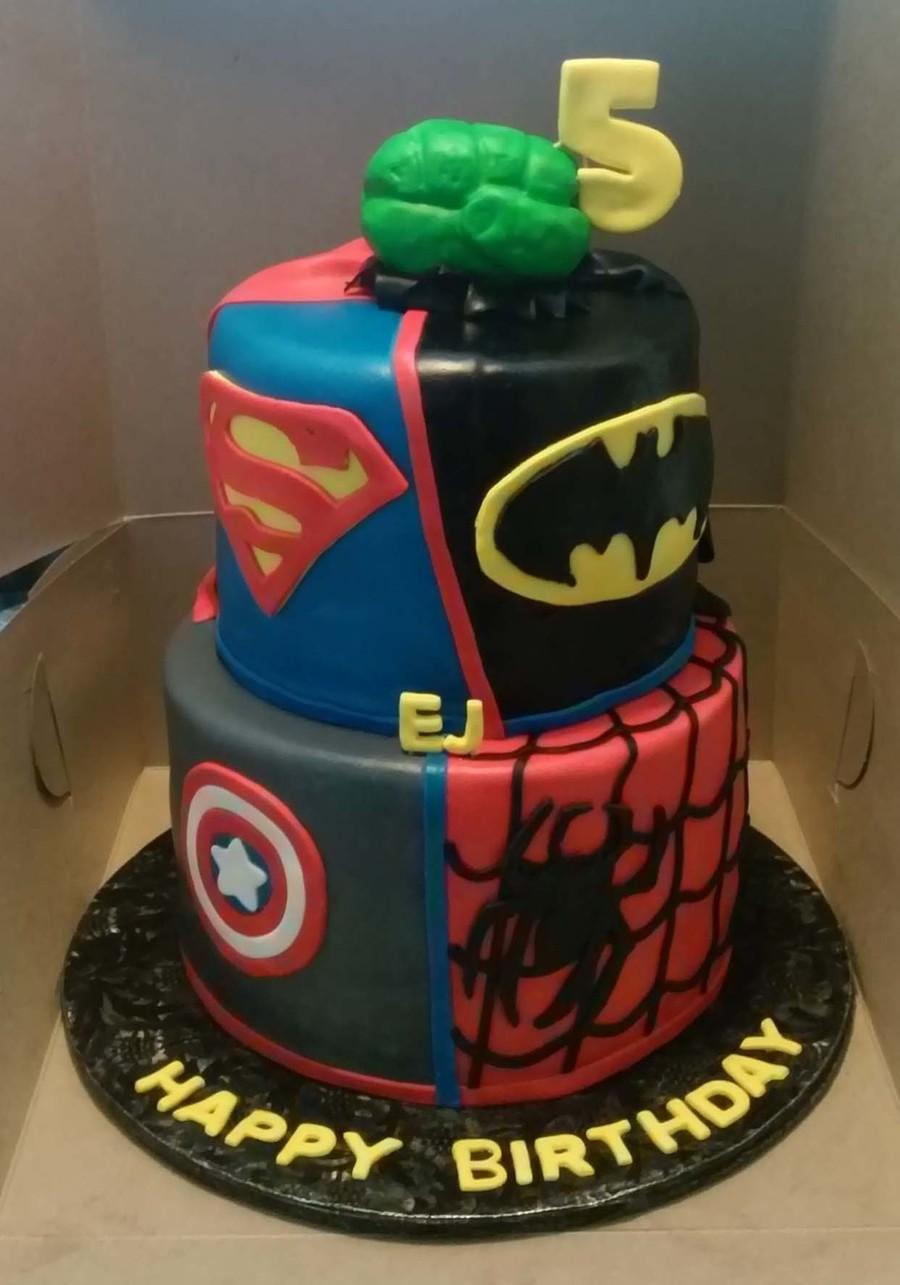 Dc Birthday Cakes