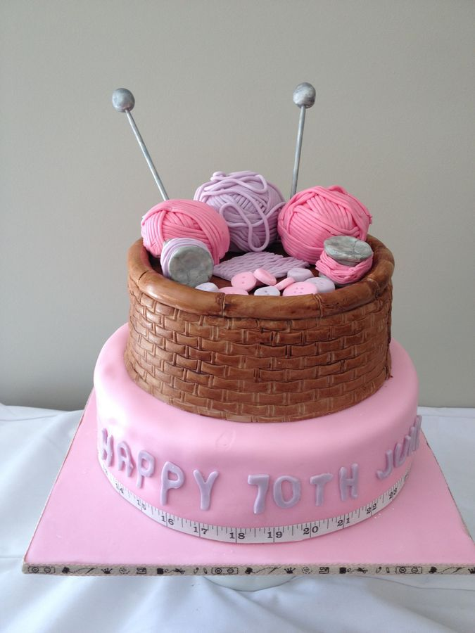 Knitted Birthday Cakes
