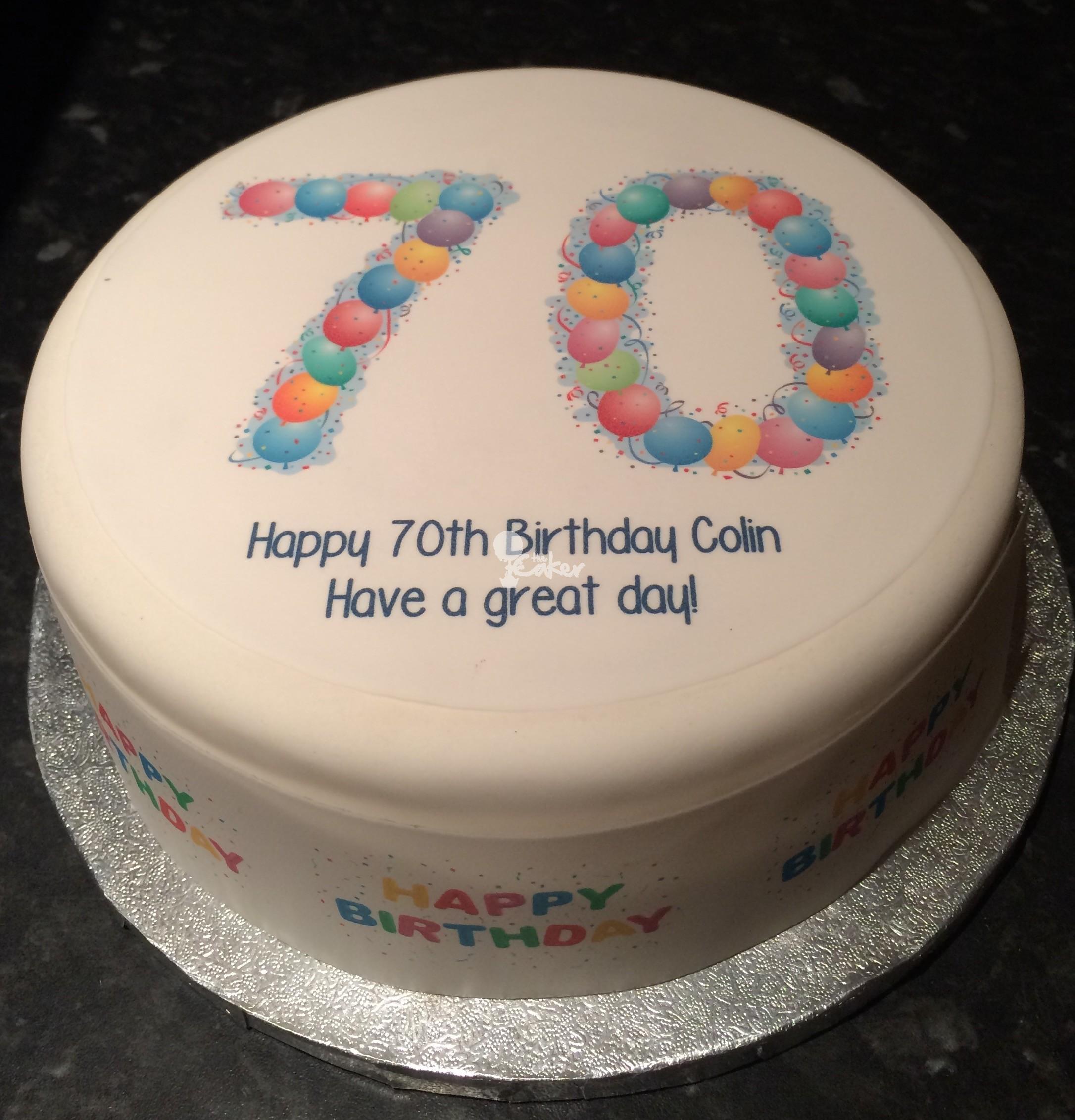 70 Birthday Cakes