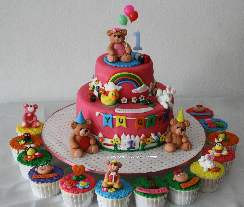 Teddy Birthday Cakes
