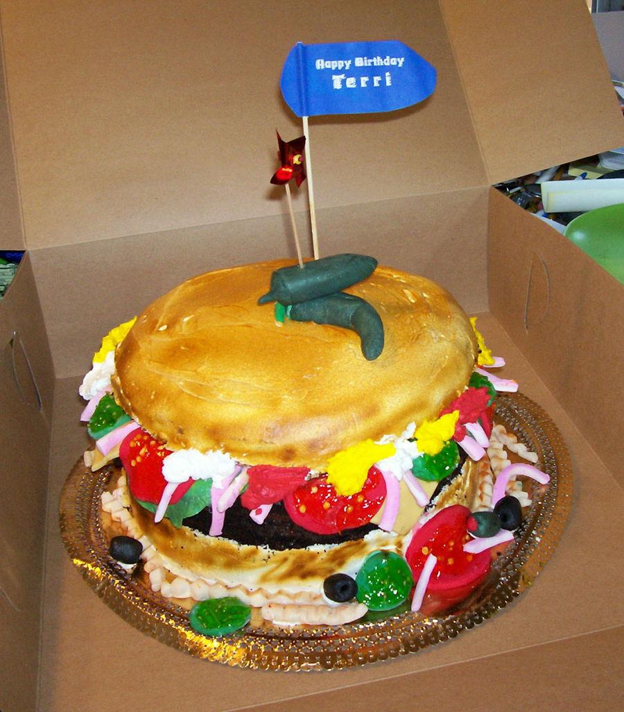 Hamburger Wedding Cakes