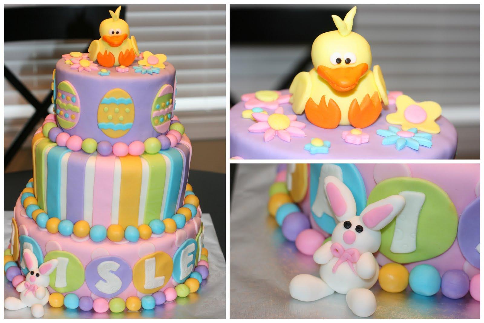 Easter Birthday Cakes