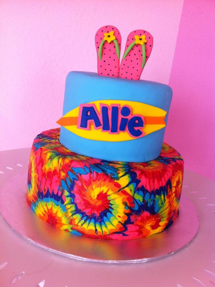 tie birthday cakes