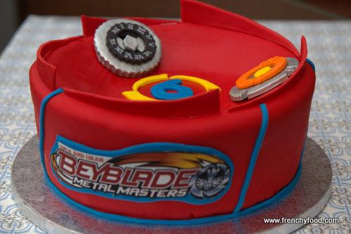 Beyblade Birthday Cakes