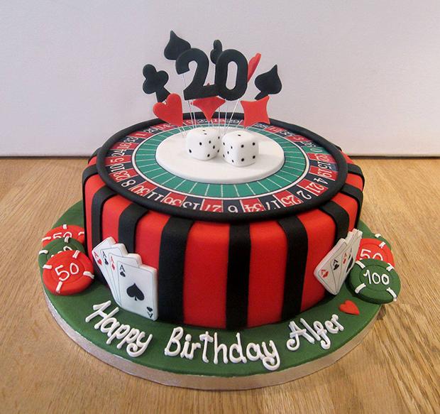 Casino Birthday Cakes