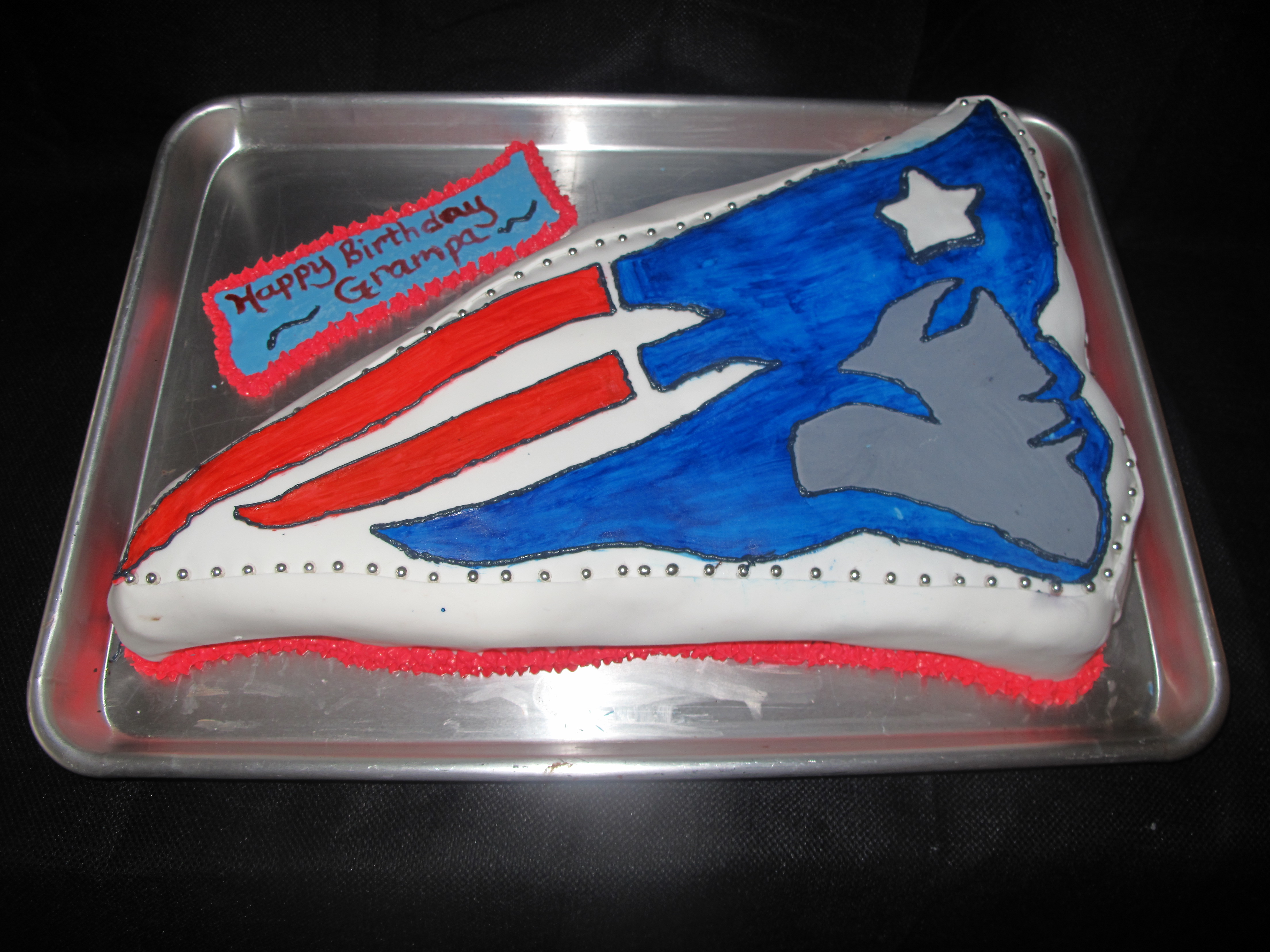 Patriots Birthday Cakes