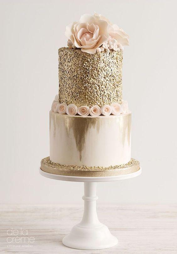 Sparkly Birthday Cakes