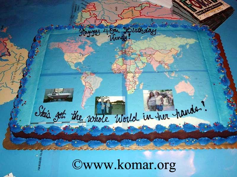 World Birthday Cakes