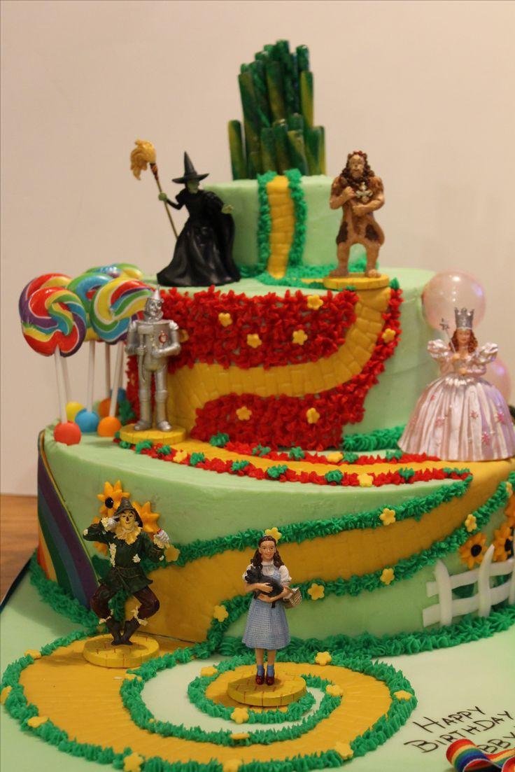 Wizard Birthday Cakes