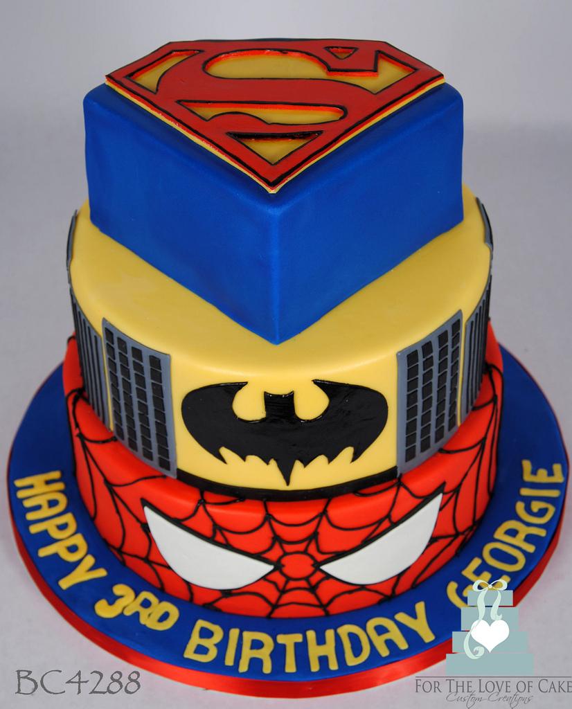 Comic Birthday Cakes