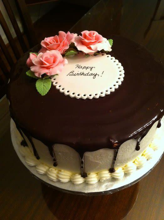Ganache Birthday Cakes