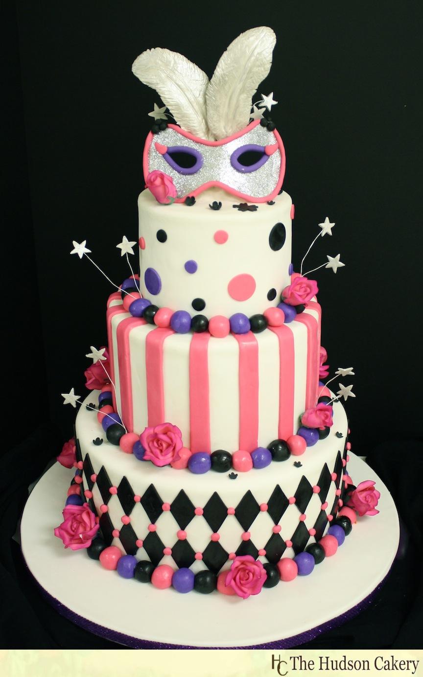 Sixteen Birthday Cakes